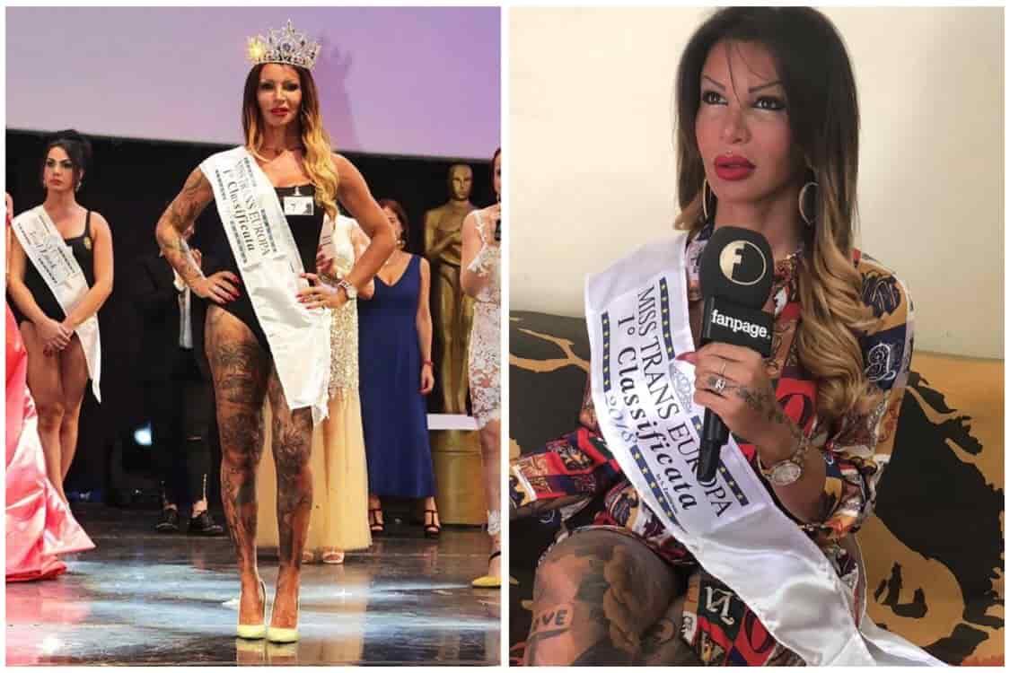 Sara Miss Trans Europa