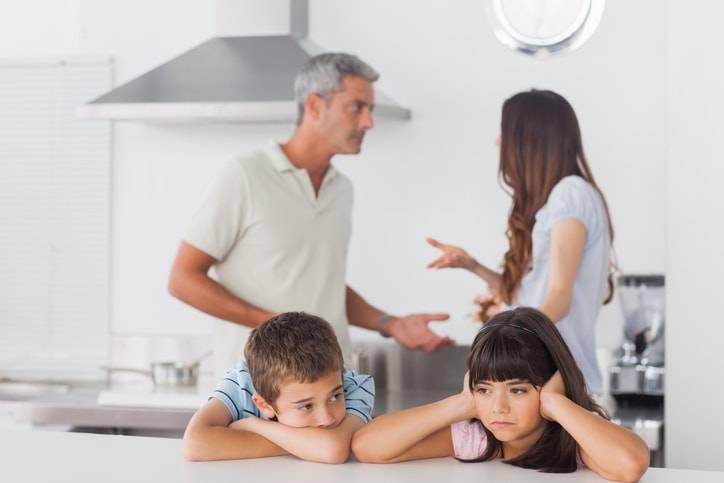 diritti dei figli di genitori in separazione