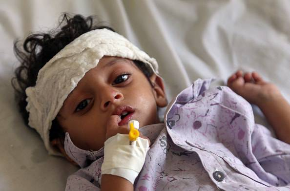 strage bambini yemen