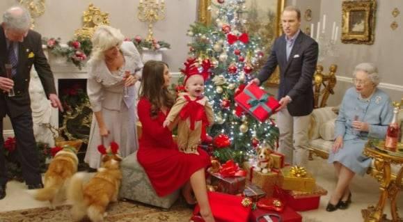 Natale famiglia reale
