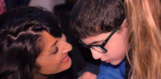 Antonio Maria con la mamma