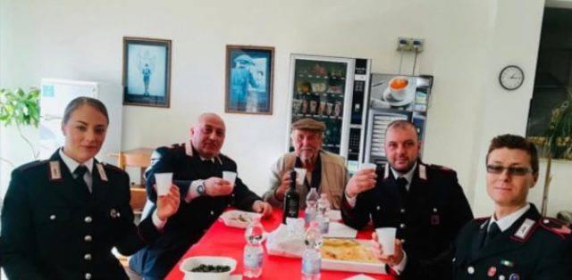 anziano salvato dai carabinieri