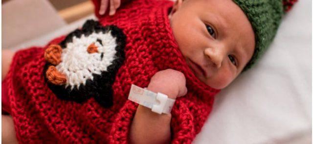 neonati maglione uncinetto