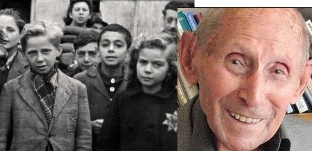ha salvato un migliaio di bimbi ebrei