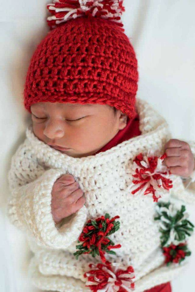 neonati maglione uncinetto 1