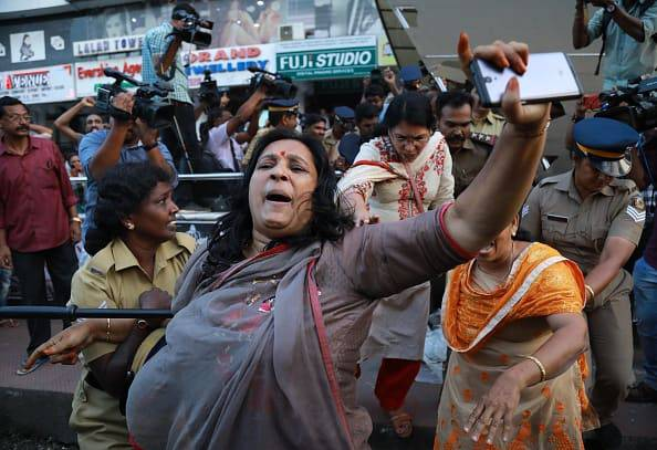 protesta delle donne in india