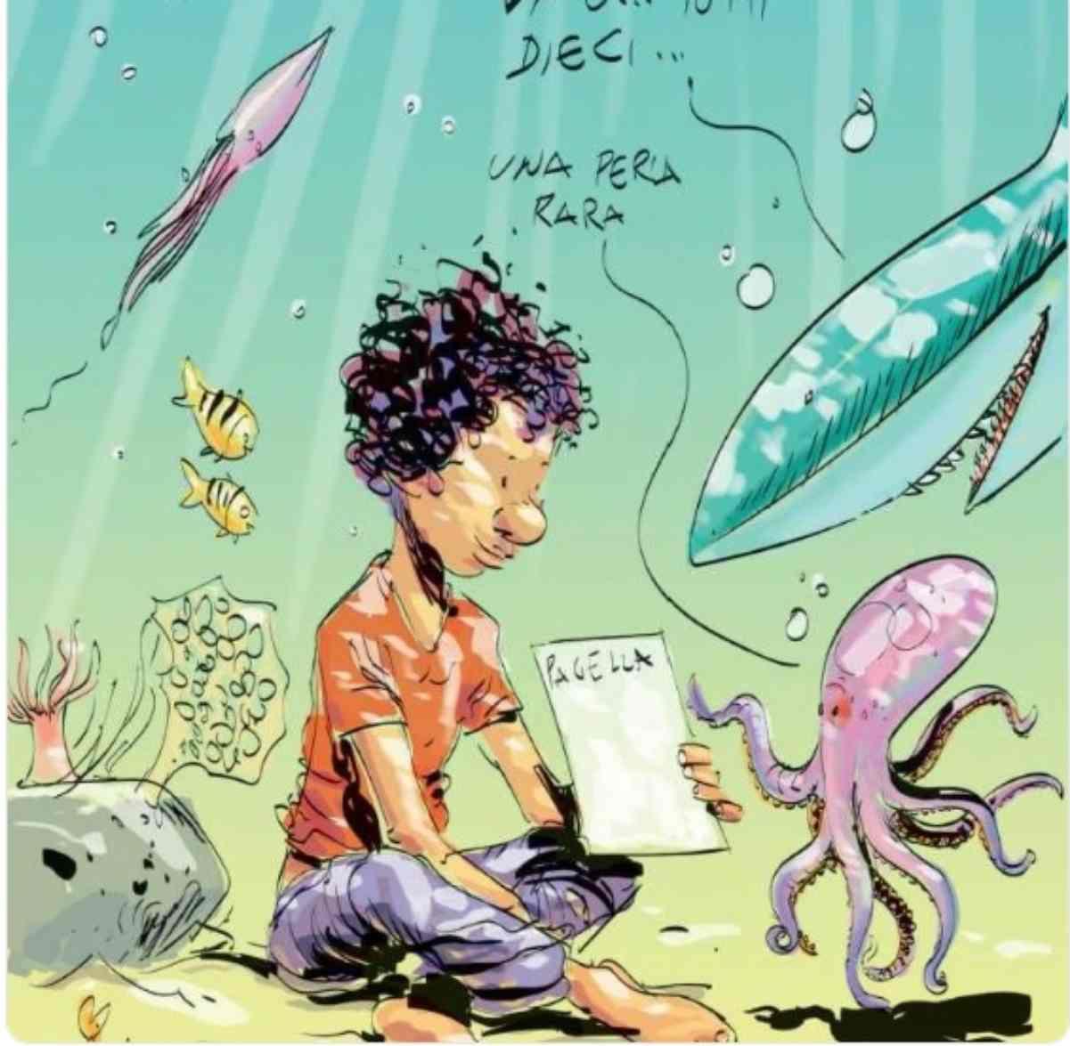 Annegato in mare a 14 anni con la pagella cucita addosso: la sua storia (FOTO)