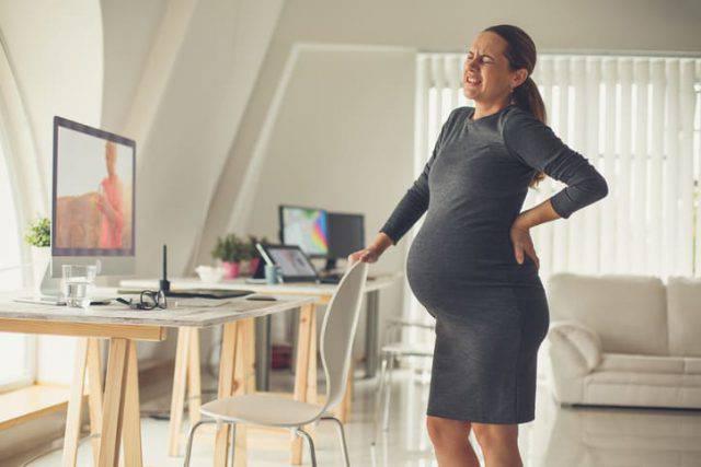 lavorare fino al parto