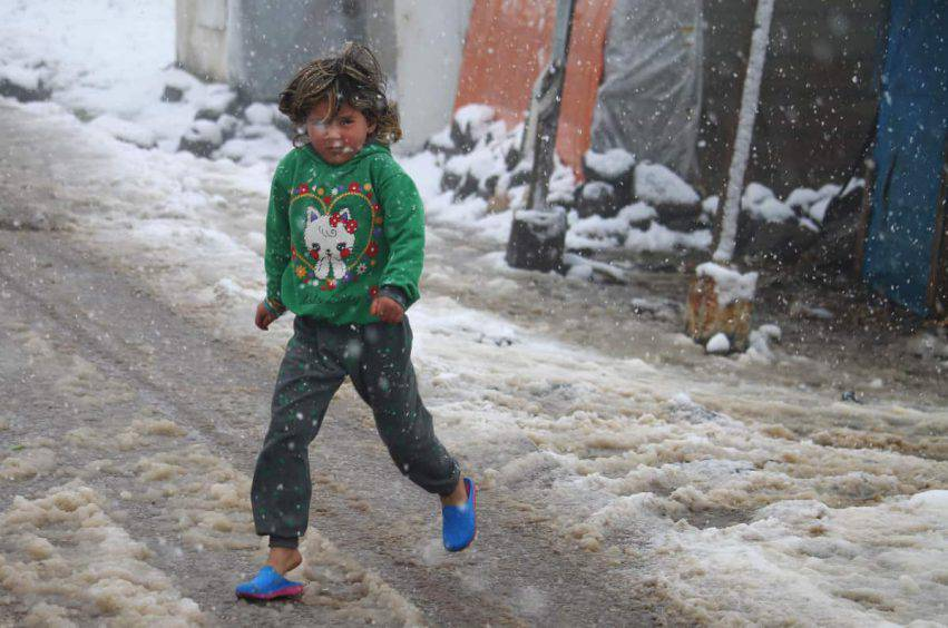 bambini siriani morti di freddo