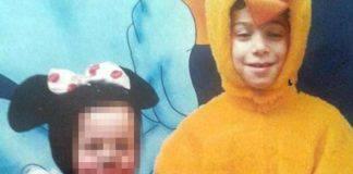 bambino ucciso con la scopa