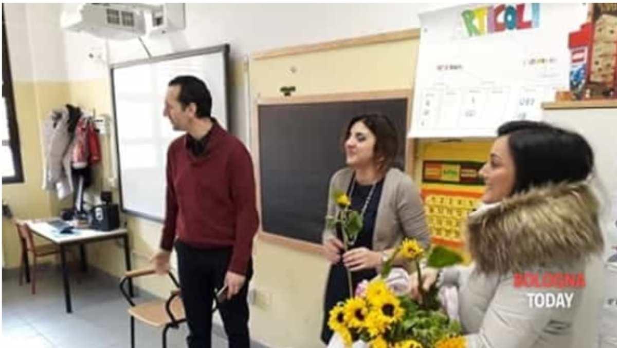 fiori ai professori