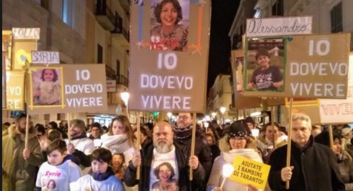 fiaccolata Taranto