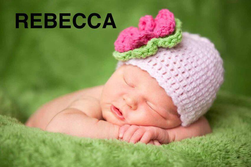 bambina nome rebecca