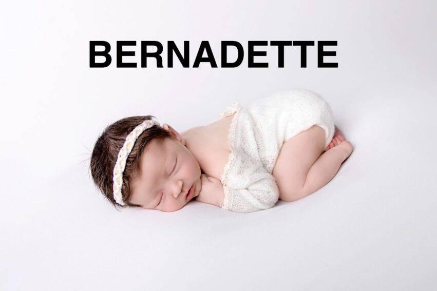 BAMBINA NOME BERNADETTE