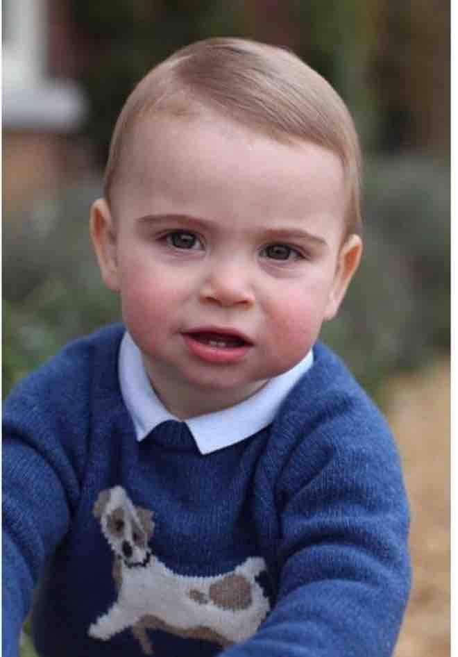 royal baby 1 anno