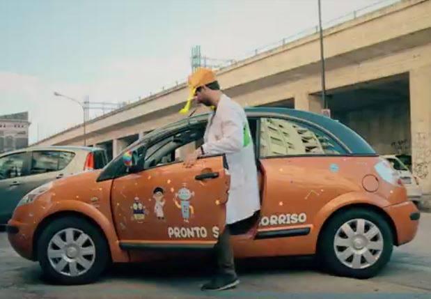 taxi clown pescara