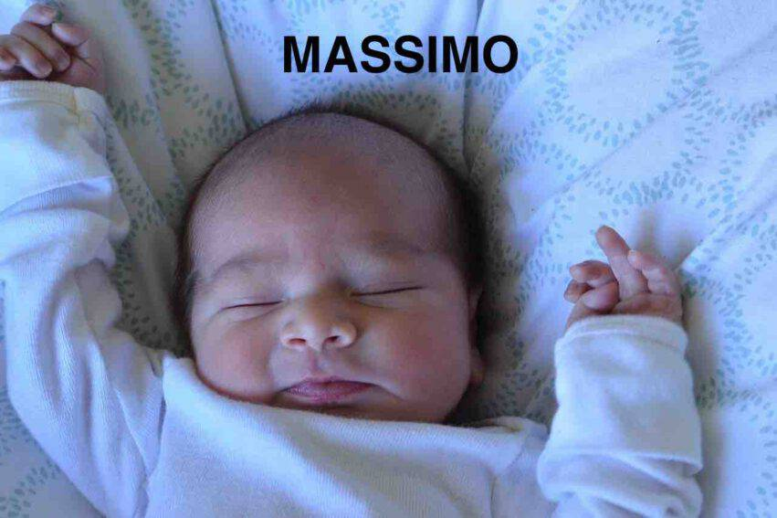 BAMBINO NOME MASSIMO