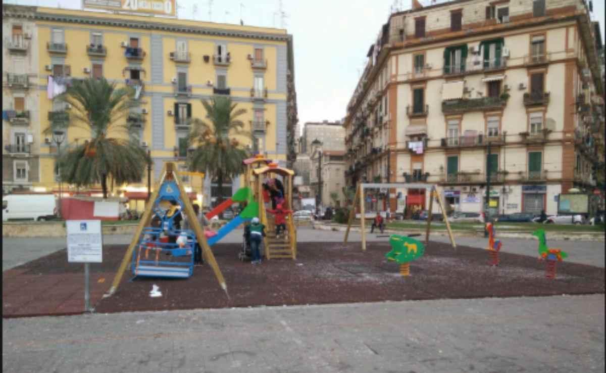 bambina ferita a Napoli