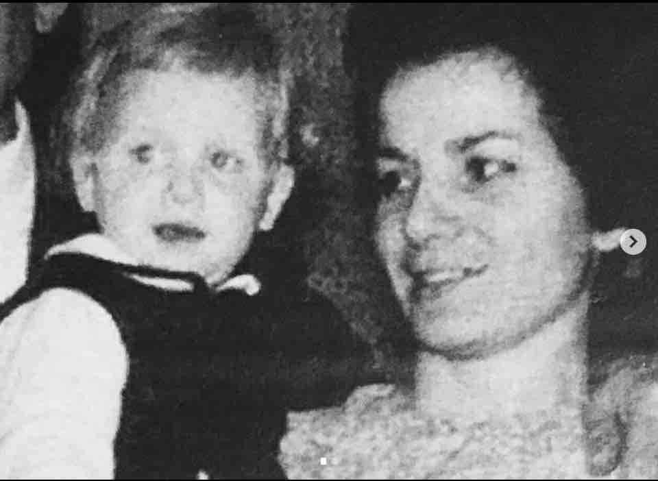 Lorella Cuccarini mamma