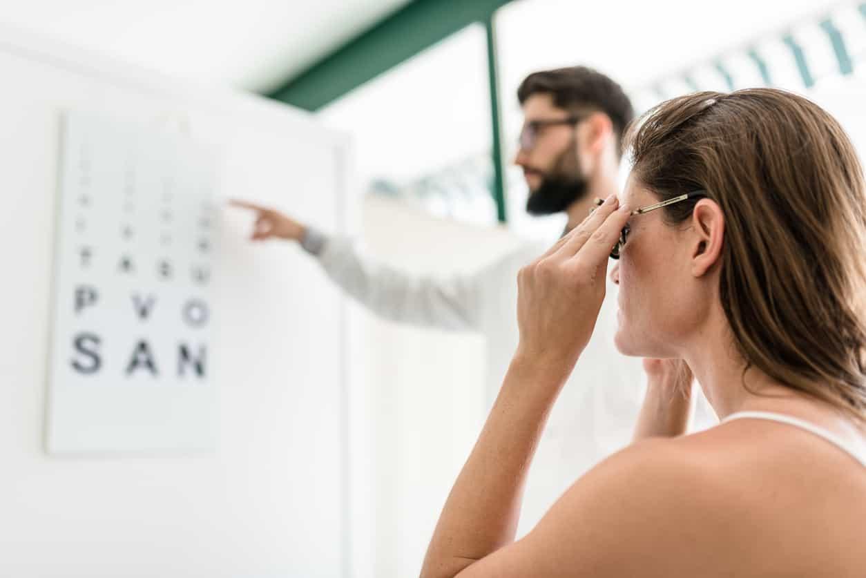 L'immagine virale che ti dice se hai un problema alla vista