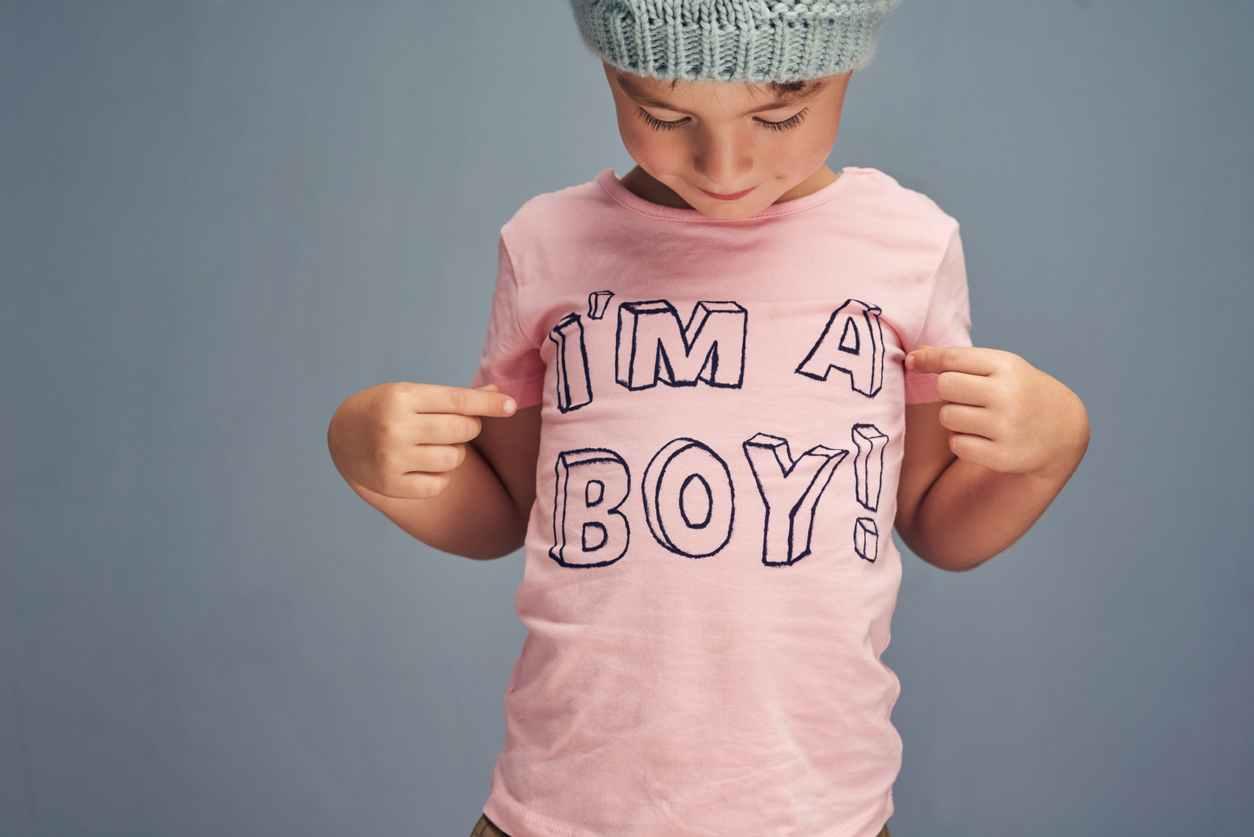 bambino transgender