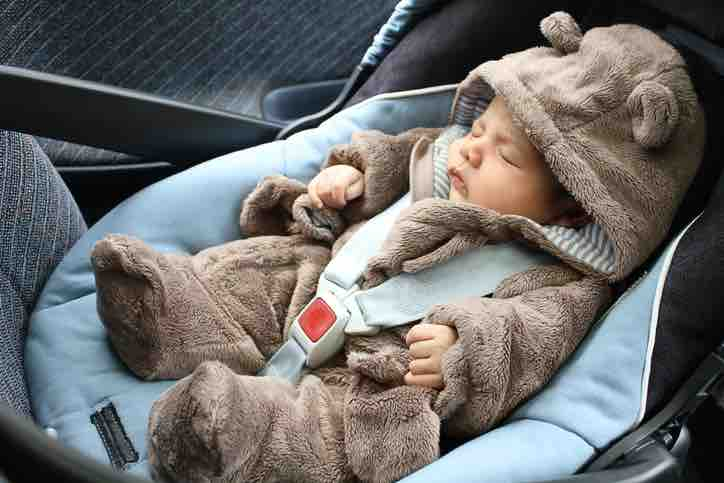 neonato dimenticato