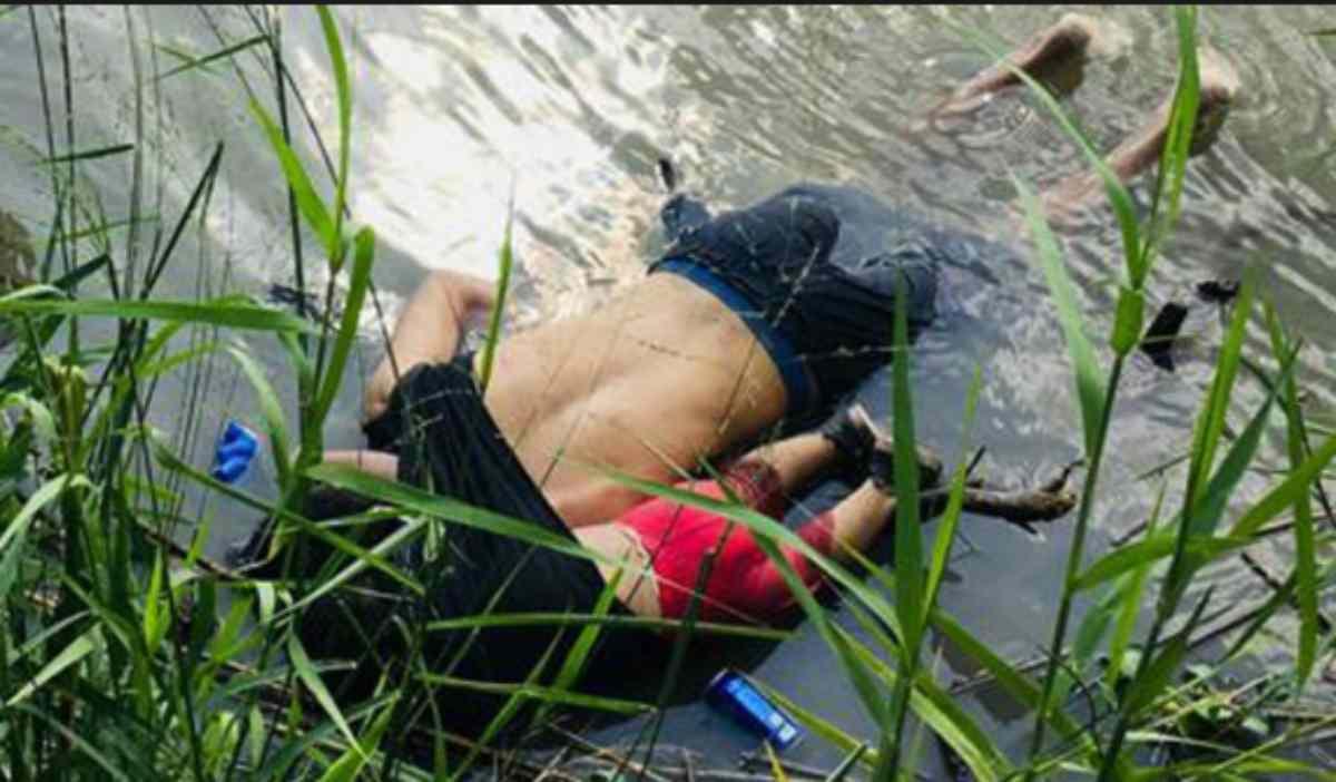 padre e figlia annegati nel Rio Grande