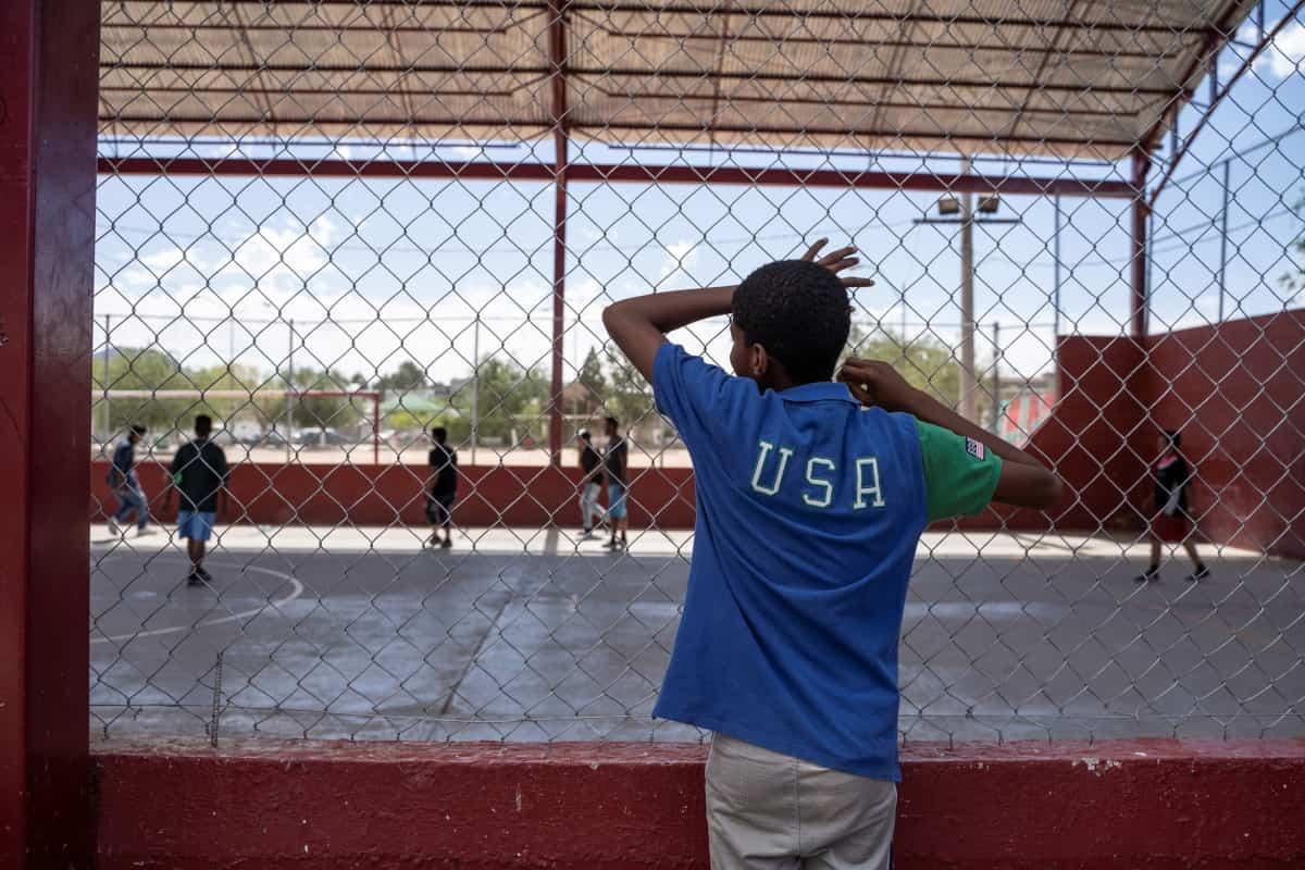 bambini migranti usa