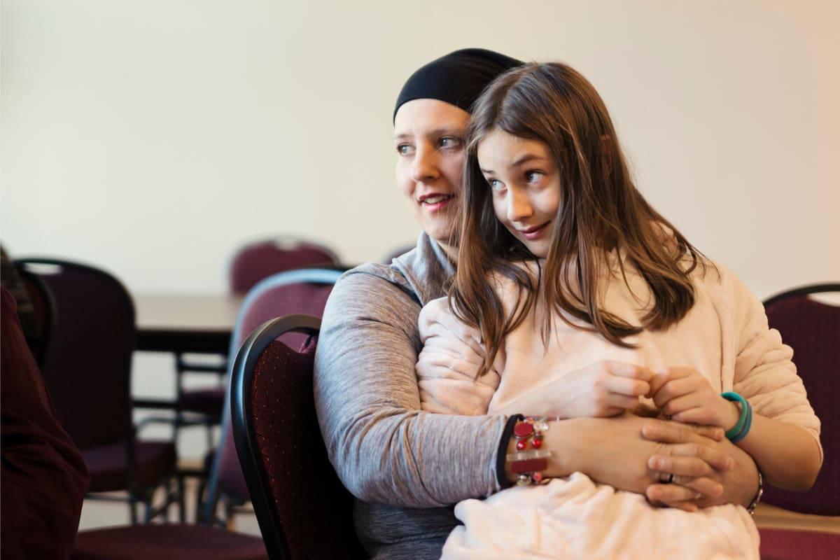 donna tumore famiglia