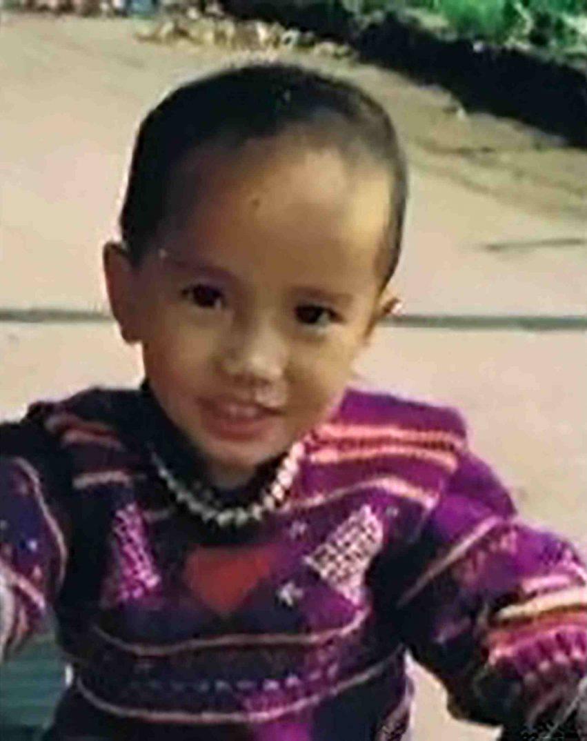 bambino rapito trovato con FaceApp
