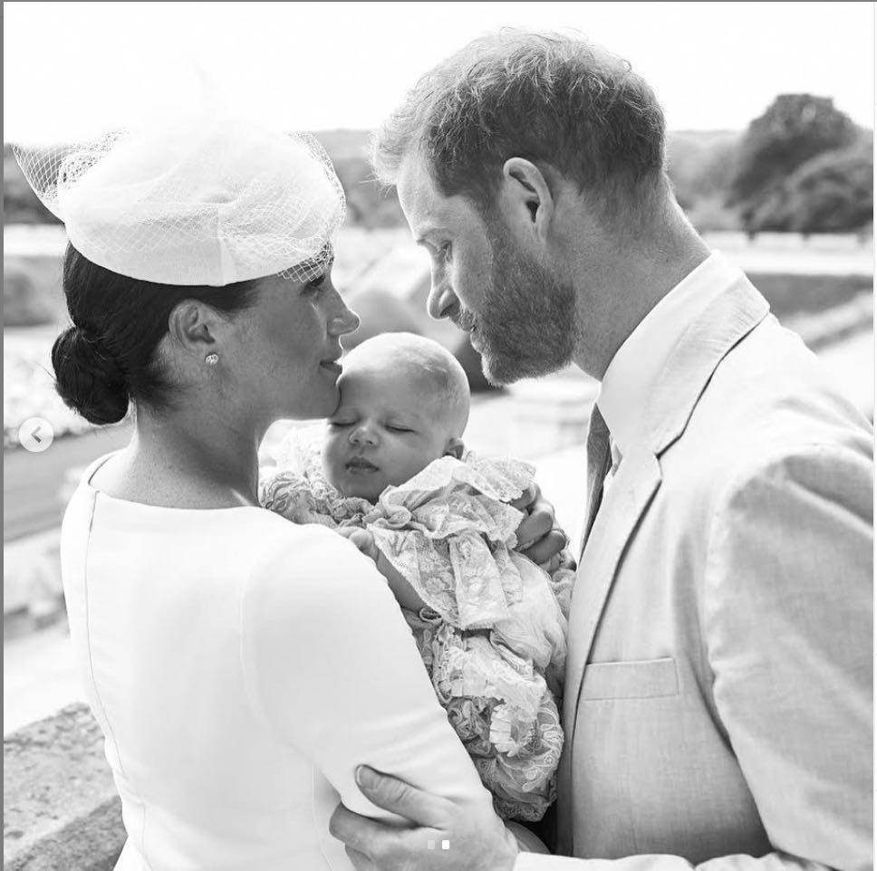 battesimo archie harry meghan