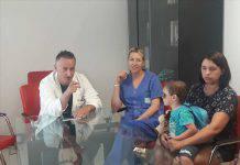 bambino malato curato in Italia