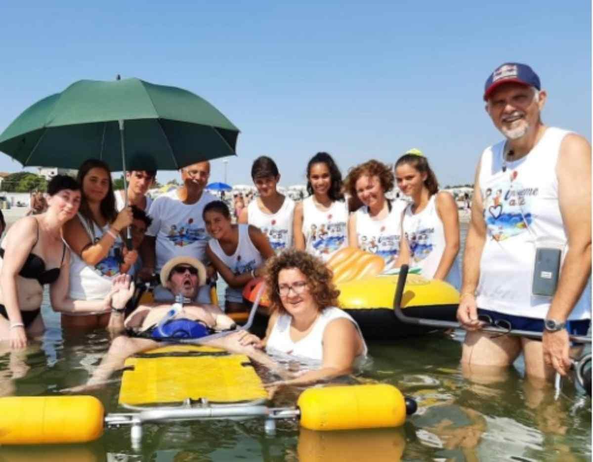 Un lido per malati gravi: è il primo sulla Riviera Romagnola – FOTO