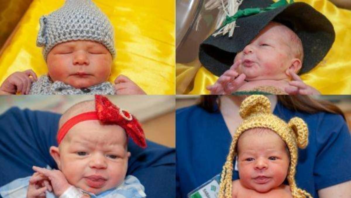 4 prematuri omaggiano il Mago di Oz e diventano virali – FOTO