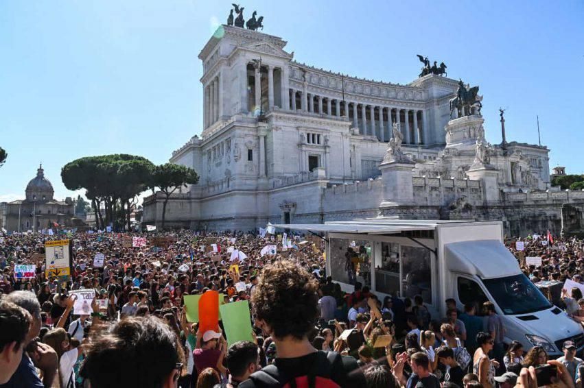 sciopero per il clima italia
