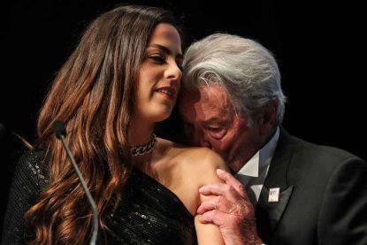 Alain Delon e la figlia