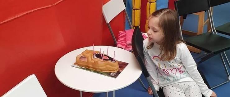 Compleanno bambina autistica