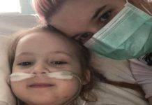bambina con malattia sconosciuta