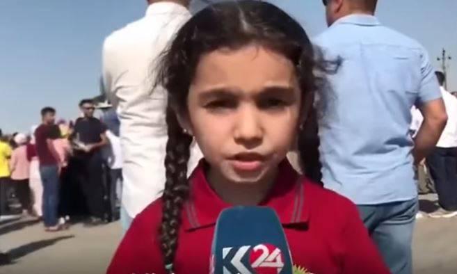 appello eva bambina curda
