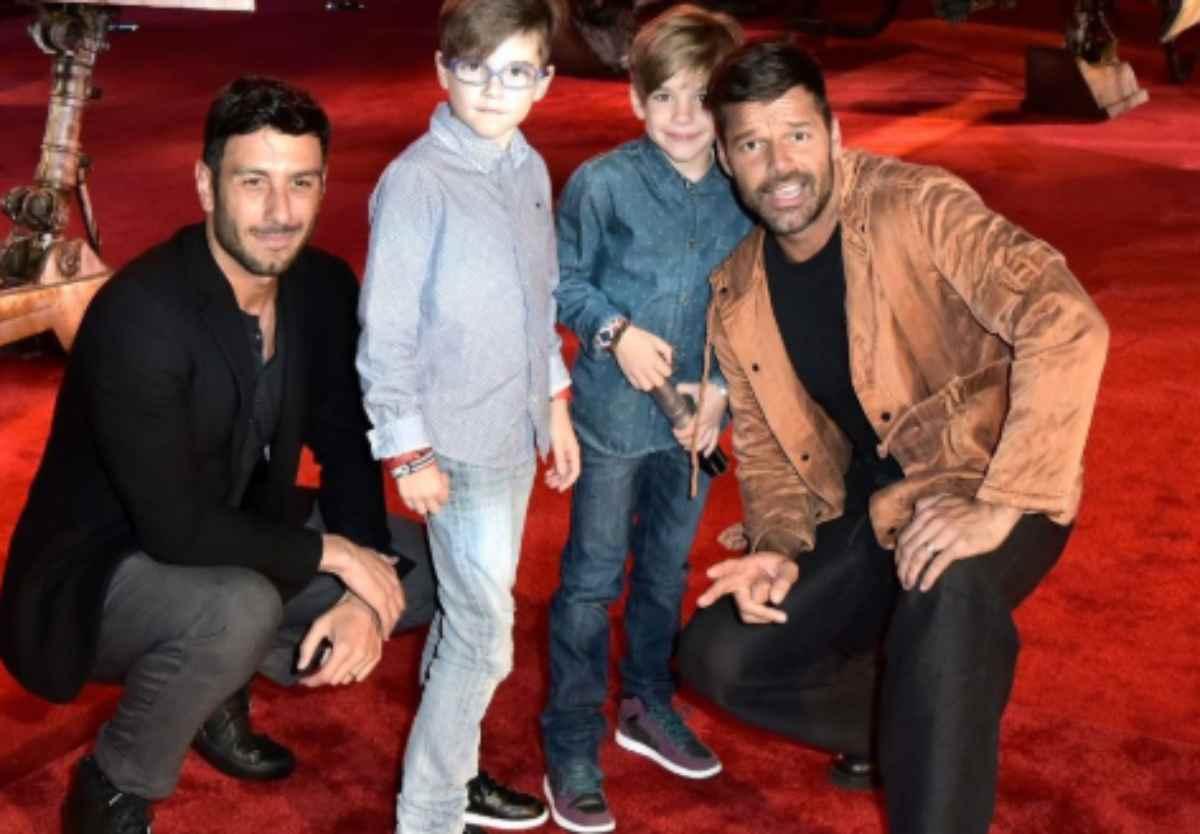 Ricky Martin e marito sono in attesa di un 4° figlio – FOTO