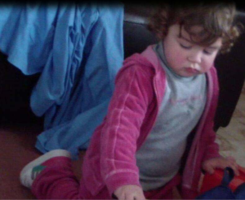 bambina di 2 anni investita