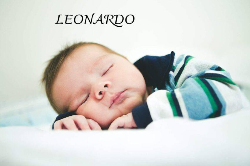 bambino dorme leonardo