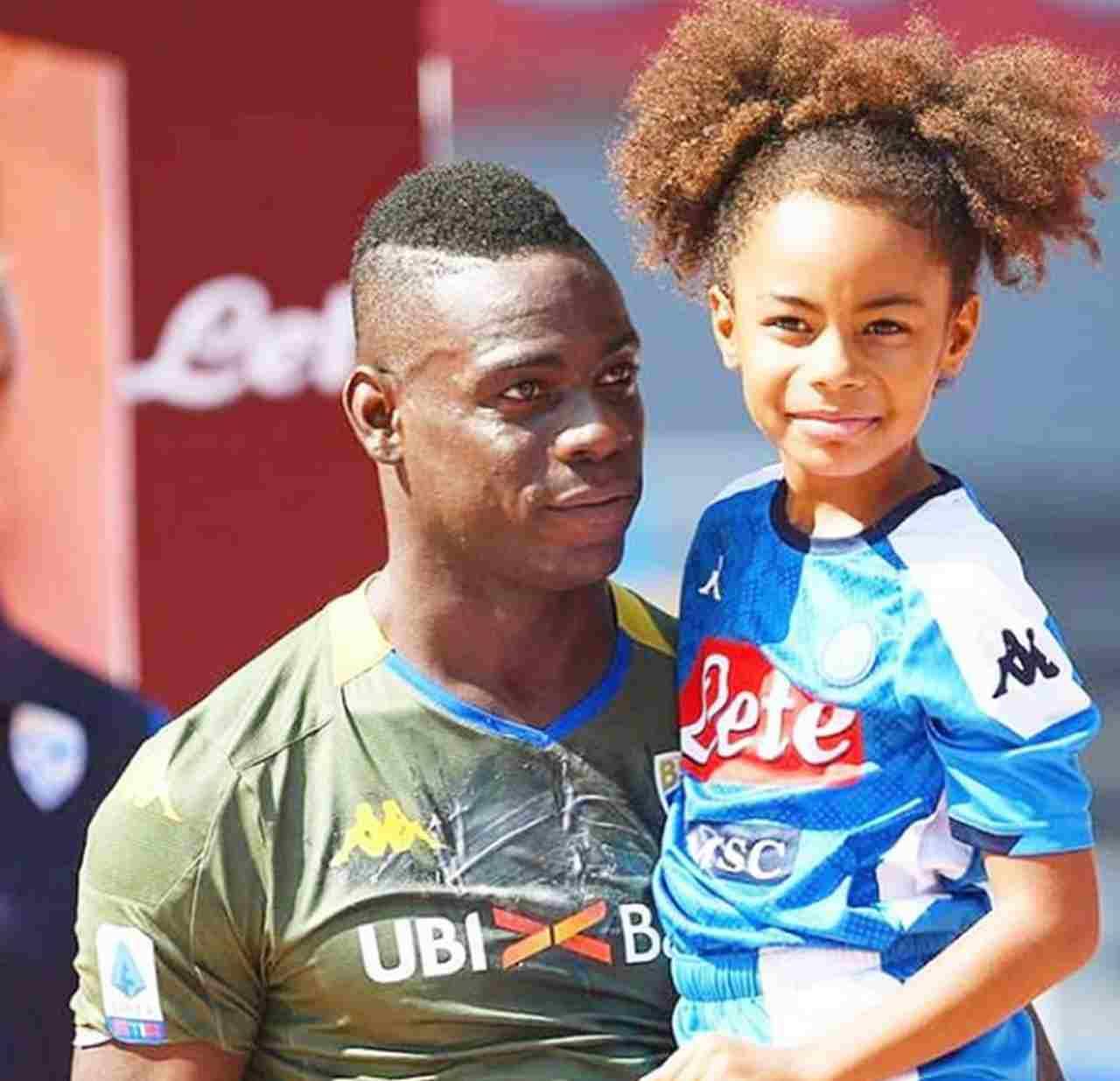 Mario Balotelli anche la figlia presa di mira: offese indicibili   FOTO