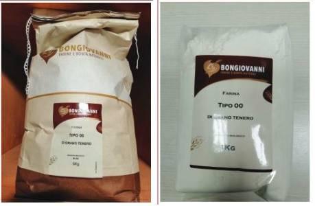 Allerta allergeni per farina di grano tenero OO bio: i lotti ritirati