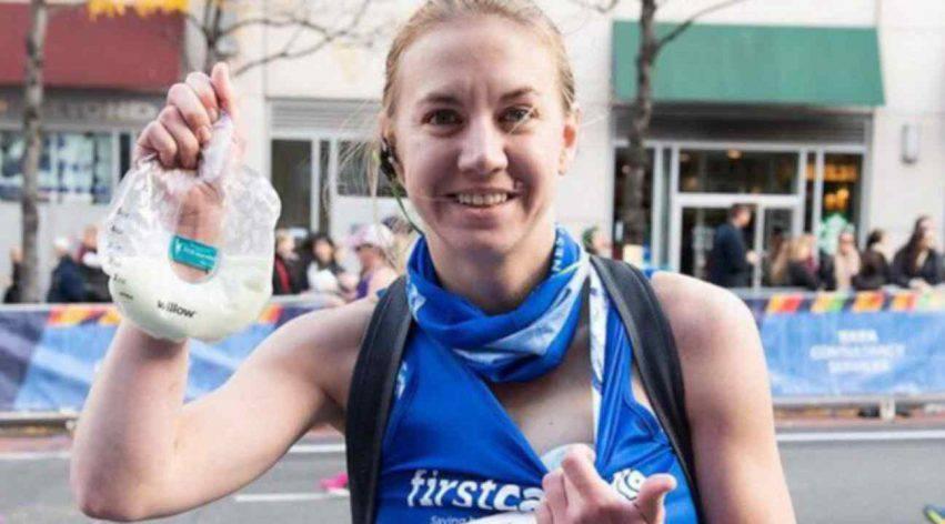 mamma fa maratona e pompa il latte 2