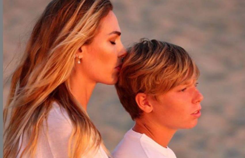Francesco Totti e Ilary Blasy compleanno del figlio Cristian