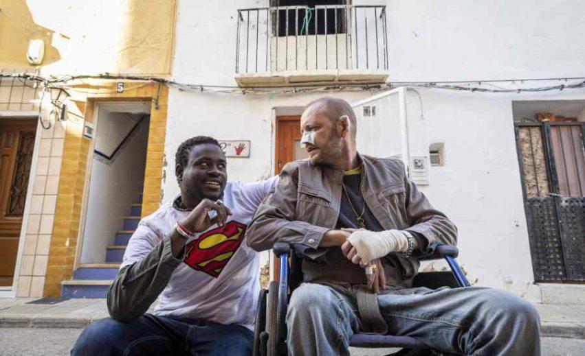 migrante salva disabile