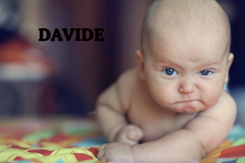 BAMBINO NOME DAVIDE