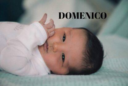 BAMBINO NOME DOMENICO