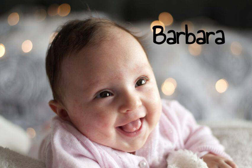 bambina nome barbara